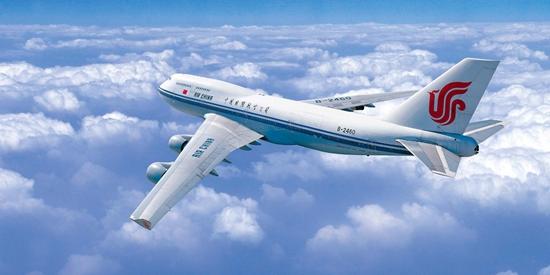 国航飞机展示图